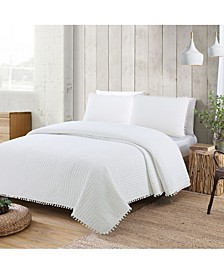 Estate Costa Brava 3 Piece King Quilt Set