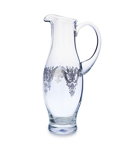 Classic Touch Pitcher with Sterling Silver Artwork