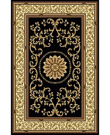 Navelli Black Area Rug Collection