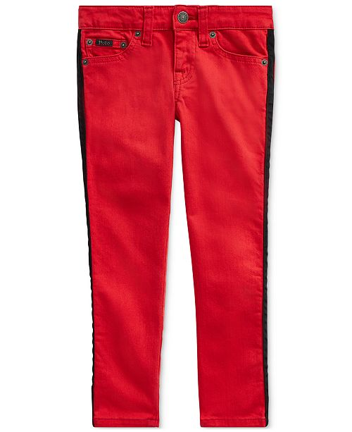 Polo Ralph Lauren Little Girls Tompkins Stretch Skinny Jeans