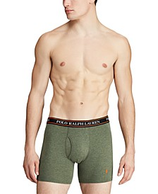 Men's 3-Pk. Classic Stretch Boxer Briefs