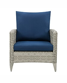 Distribution Parkview Wide Rattan Wicker Patio Chair
