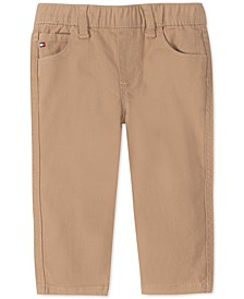 Baby Boys Stretch Twill Pants