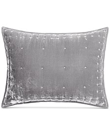 CLOSEOUT! Tufted Velvet Standard Sham, Created for Macy's