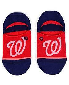 Women's Washington Nationals Invisible No Show Socks