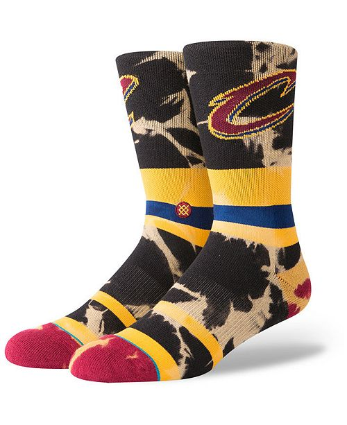 Stance Cleveland Cavaliers Acid Wash Crew Socks