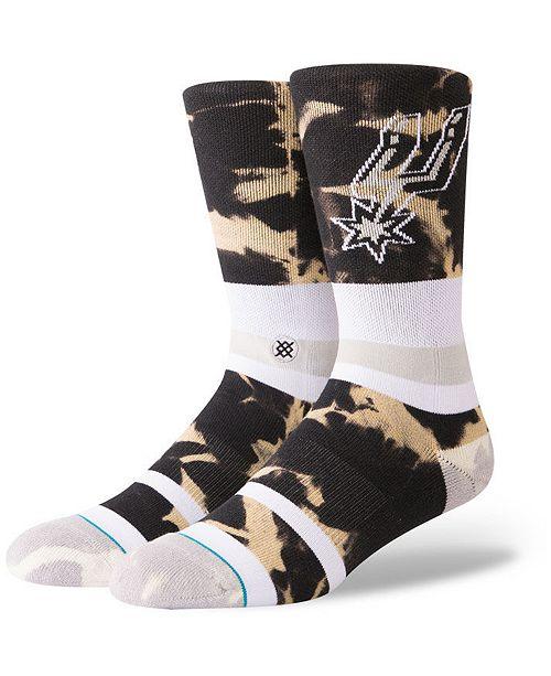 Stance San Antonio Spurs Acid Wash Crew Socks