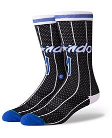 Penny Hardaway Orlando Magic Hardwood Classic Jersey Crew Socks
