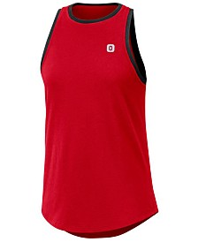 Nike Women's Ohio State Buckeyes High Neck Tank