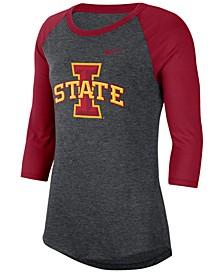Women's Iowa State Cyclones Logo Raglan T-Shirt