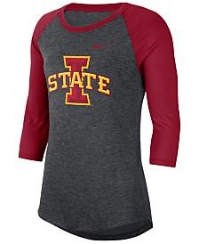 Nike Women's Iowa State Cyclones Logo Raglan T-Shirt