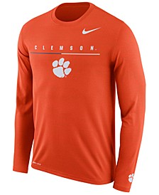 Men's Clemson Tigers Velocity Travel Long Sleeve T-Shirt