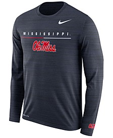 Men's Ole Miss Rebels Velocity Travel Long Sleeve T-Shirt