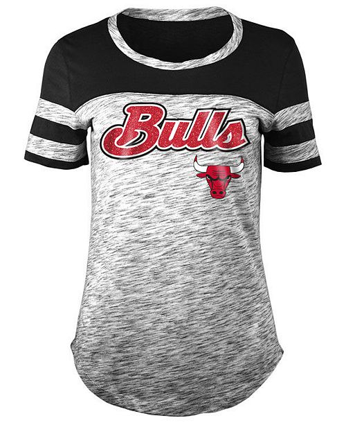 5th & Ocean Women's Chicago Bulls Space Dye T-Shirt