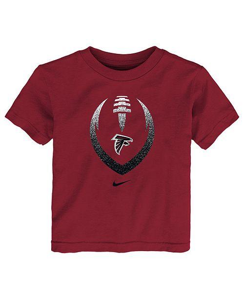 Nike Little Boys Atlanta Falcons Football Icon T-Shirt