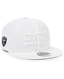 Oakland Raiders On-Field Alt Collection 9FIFTY Snapback Cap