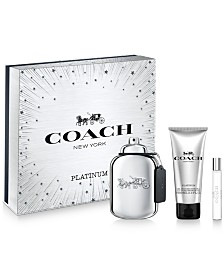 COACH Men's 3-Pc. Platinum Eau de Parfum Gift Set