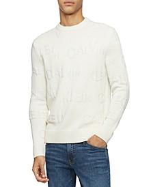 Men's Jacquard Logo Sweater