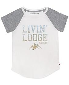 Little Girls Cotton Livin' Lodge T-Shirt