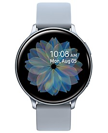 Galaxy Active 2 Gray Silicone Strap Touchscreen Smart Watch 44mm