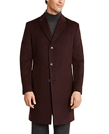 Men's Raburn Slim-Fit Solid Overcoat