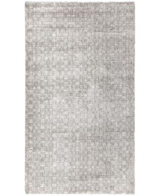 Cloud 9 Hara Silver-Cream 8'6 x 12'0 Area Rug