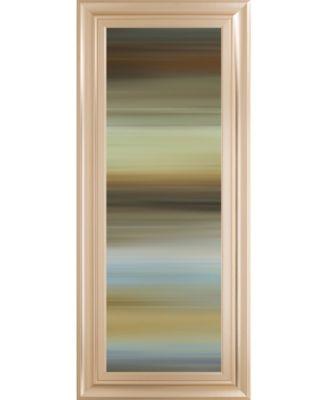 "Abstract Horizon I by James McMaster Framed Print Wall Art - 18"" x 42"""