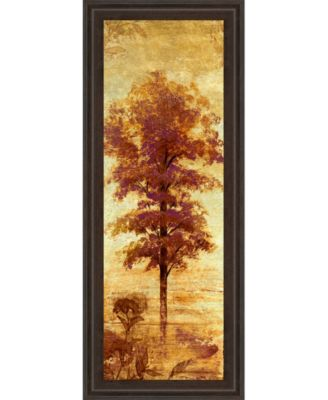 """Early Autumn Chill I by Michael Marcon Framed Print Wall Art - 18"""" x 42"""""""