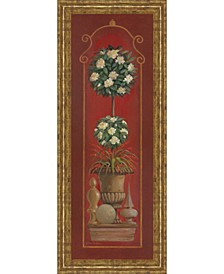 """Potted Plant II Print in Framed Print Wall Art - 18"""" x 42"""""""