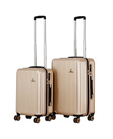 Triforce Sobe 2-Piece Brushed Texture Luggage Set
