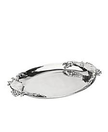Designs Aluminum Crab Oval Platter