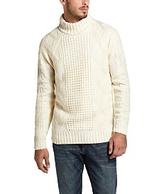 Weatherproof Vintage Men's Fisherman Turtleneck Sweater