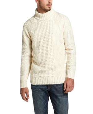 Edwardian Men's Shirts & Sweaters Weatherproof Vintage Mens Fisherman Turtleneck Sweater $26.93 AT vintagedancer.com