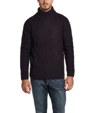 Edwardian Men's Shirts & Sweaters Weatherproof Vintage Mens Fisherman Turtleneck Sweater $40.00 AT vintagedancer.com