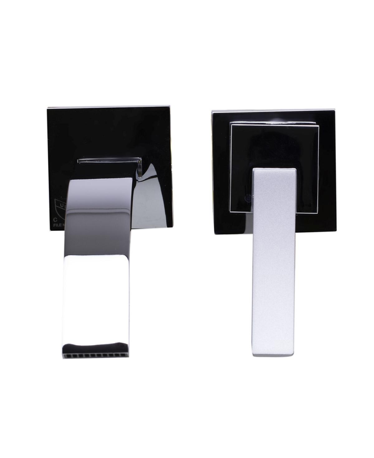 Alfi brand Polished Chrome Single Lever Wallmount Bathroom Faucet Bedding