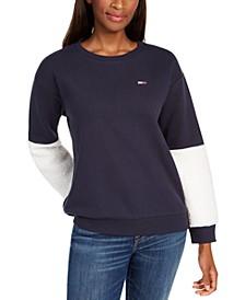 Sherpa-Sleeve Sweatshirt, Created For Macy's
