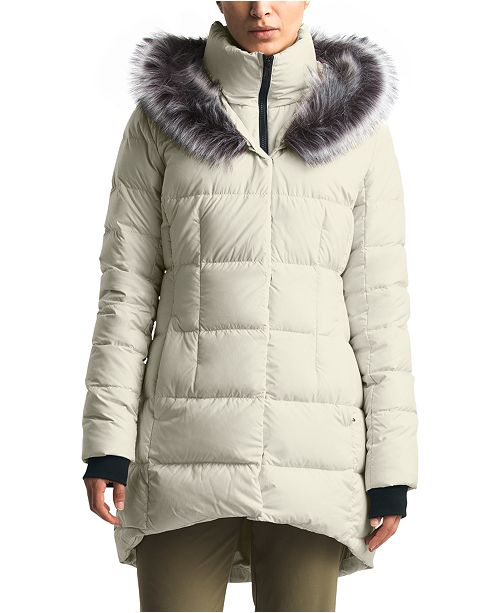 The North Face Women's Dealio Faux-Fur-Trim Hooded Parka Coat