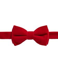 Big Boys Pre-Tied Red Bow Tie