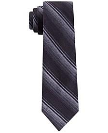 Men's Slim Ombré Stripe Silk Tie