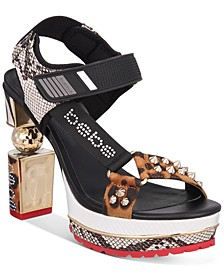 Collab Platform Dress Sandals