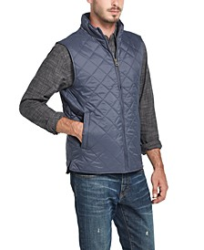 Men's Diamond Quilted Vest