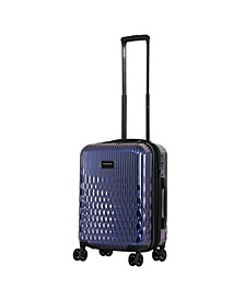 "Triforce Lumina 22"" Carry On Iridescent Geometric Design Luggage"