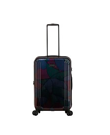 """Triforce Lumina 26"""" Spinner Iridescent Abstract Print Luggage"""