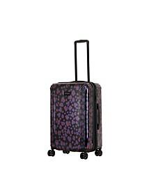 "Triforce Lumina 26"" Spinner Iridescent Leopard Print Luggage"