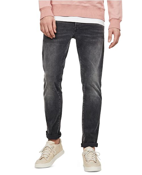 Men's 3301 Slim Fit Jeans, Created for Macy's