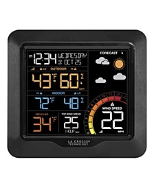 327-1417 Color Wind Speed Weather Station with Wind and Outdoor Sensor