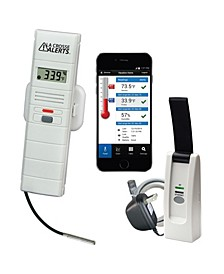 La Crosse Alerts 926-25102-WGB Wireless Monitor System Set with Wet Probe
