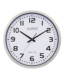 "404-1220 20"" Extra Large Atomic Analog Wall Clock"
