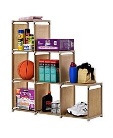 6-Compartment Cube Storage