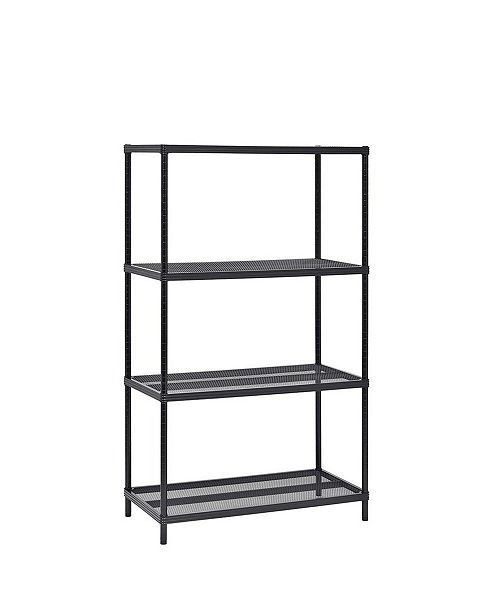 Edsal 4-Tier Mesh Shelving Unit